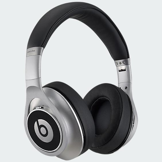 Beats Executive Over Ear Headphone - Silver