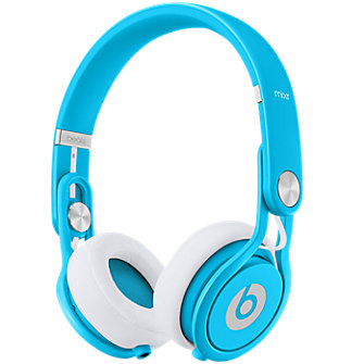 Beats Mixr On-Ear Headphone - Neon Blue