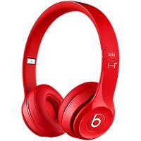Beats Solo 2 On-Ear Headphone - Red