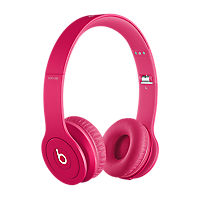 Beats Solo HD On Ear Headphones - Drenched in Color Pink