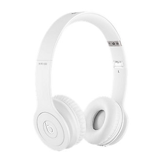 Beats Solo HD On Ear Headphones - Drenched in Color White