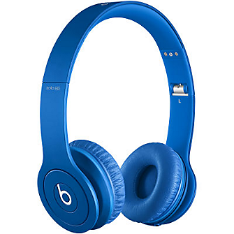 Beats Solo-HD On Ear Headphones - Matte Blue