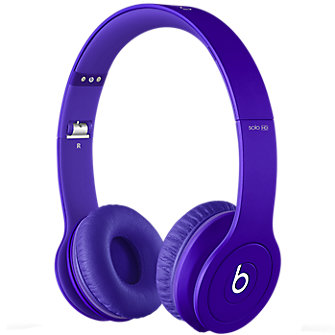 Beats Solo-HD On Ear Headphones - Matte Purple