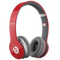 Beats Solo-HD On Ear Headphones - Red