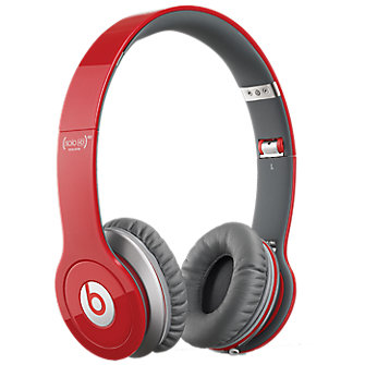 Beats Solo-HD On Ear Headphones - Red