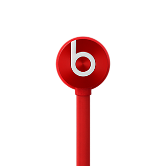 Beats urBeats In Ear Headphone - Red