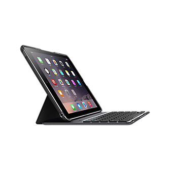 Belkin QODE Ultimate Pro Keyboard Case for iPad Air 2- Black