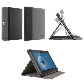 Belkin Folio with Stand - Chambray Black/Grey