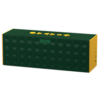 BIG JAMBOX™ by Jawbone® - Dark Green Dot with Yellow Caps