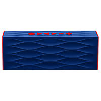 BIG JAMBOX by Jawbone - Dark Blue Wave with Red Caps
