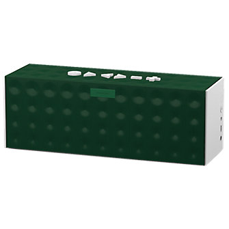 BIG JAMBOX by Jawbone - Dark Green Dot with White Caps