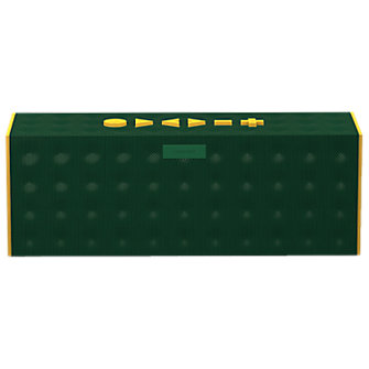 BIG JAMBOX by Jawbone - Dark Green Dot with Yellow Caps