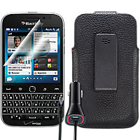 Leather Holster Bundle for BlackBerry Classic