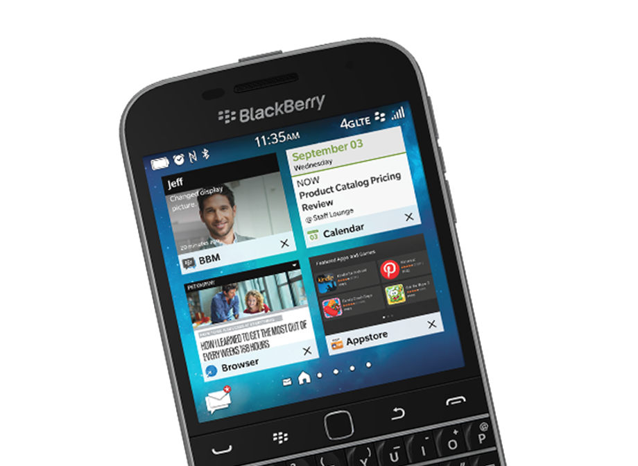Protect your communications with BlackBerry security