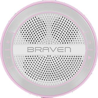 Braven Mira Portable HD Wireless Speaker - Pink