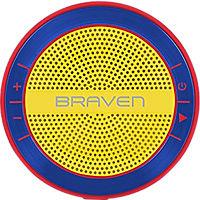 Braven Mira Portable HD Wireless Speaker - Red