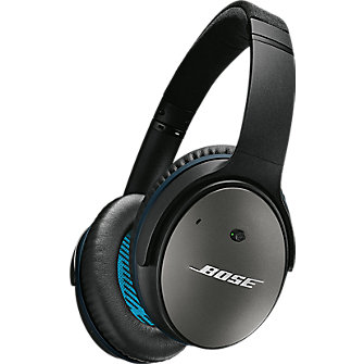 Bose QuietComfort 25 Acoustic Noise Cancelling headphones - Black