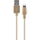 Braided Charge and Sync Cable for Apple Lightning