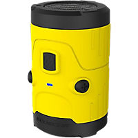 Scosche boomBOTTLE H2O Rugged Wireless Speaker - Yellow
