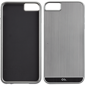 Brushed Aluminum Iphone 6 Case Case-mate Brushed Aluminum For