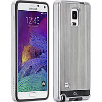 Case-Mate Brushed Aluminum for Samsung Galaxy Note 4 - Gunmetal