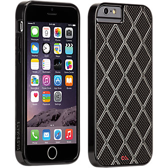 Case-Mate Carbon Alloy for iPhone 6 Black/Titanium