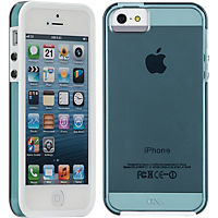 Case-Mate Naked Tough Case for Apple iPhone5/5s - Blue/White