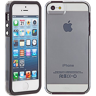 Case-Mate Naked Tough Case for Apple iPhone5/5s - Clear/Black