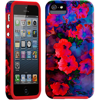 Case-Mate Ruby Blue Vine Case for Apple iPhone5/5s