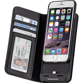 Charging Wallet for iPhone 6/6s