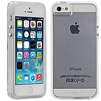 CaseMate Naked Tough Case for iPhone 5/5s - Clear with Clear Bumper