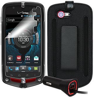 Travel Bundle for Casio G'zOne Commando 4G LTE