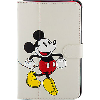 Mickey Mouse Folio Case for Ellipsis 8  - White