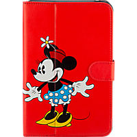 Minnie Mouse Folio Case for Ellipsis 8  - Red