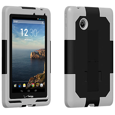 Dual Cover with Kickstand for Ellipsis 7 - Black/Gray