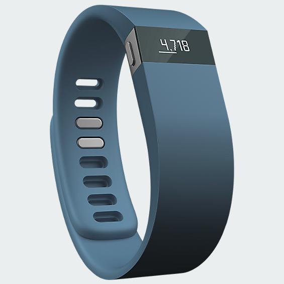 Fitbit Force Wireless Activity & Sleep Wristband - Slate/ Large - Gray