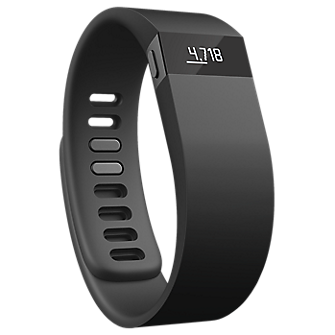 Fitbit Force Wireless Activity  Sleep Wristband - Black/Small