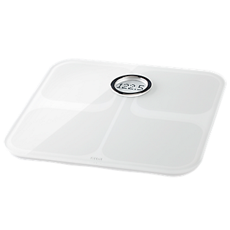 Fitbit Aria Wi-Fi Smart Scale - White