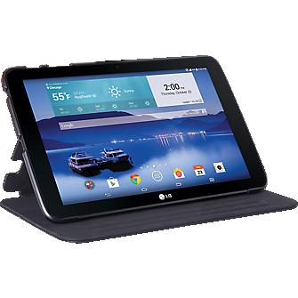 Folio Case for LG G Pad 10.1 LTE - Black