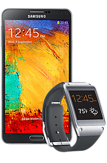 Note 3 Galaxy Gear Bundle