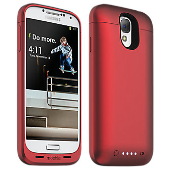 mophie juice pack for Samsung Galaxy S 4, 2300mAh - RED