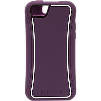Griffin Survivor Slim Case for Apple iPhone5c - Purple