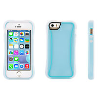 Griffin Survivor Slim for iPhone 5/5s - Blue and Clear