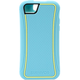 Griffin Survivor Slim Case for Apple iPhone5c - Lemondrop