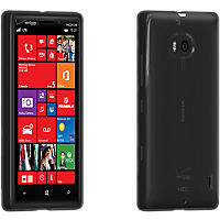 High Gloss Silicone Cover Nokia Lumia Icon - Black
