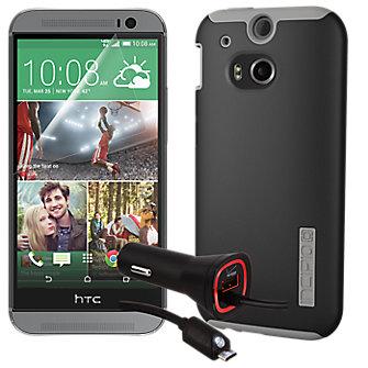 Essential Travel Bundle for HTC One (M8) - Black