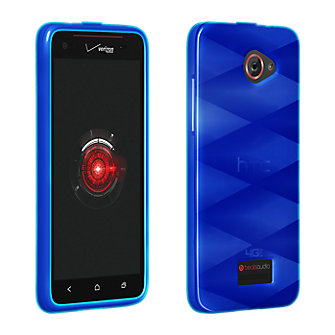 High Gloss Silicone Cover for HTC Droid DNA - Blue