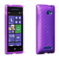 High Gloss Silicone Cover - Purple