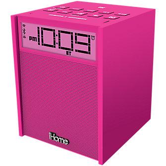 iHome iBN180PC Clock Radio - Pink