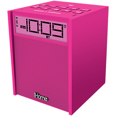 iHome iBN180PC Clock Radio - Pink